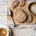 Biscotti con miglio avena e ceci  (senza uova)
